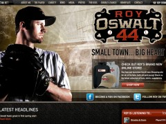 Roy Oswalt's Brand New Website Launches