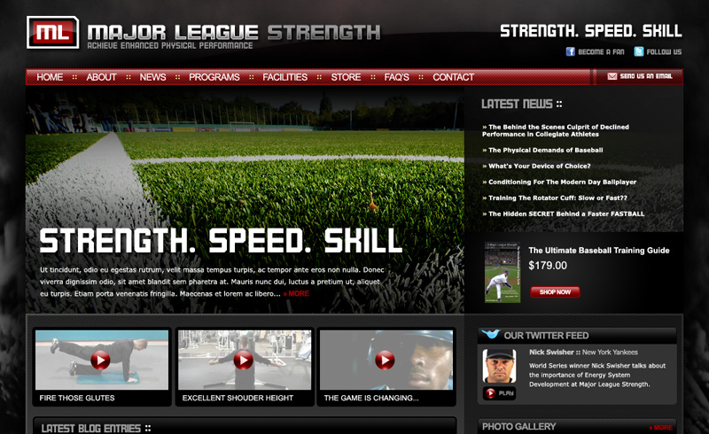 Major League Strength Launches Their New Brand!