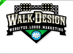 "Walk Design Honored as the ""Featured Showcase"" on LogoPond.com"