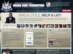 We launched New York Yankee Curtis Granderson's Grand Kids Foundation Website Today!