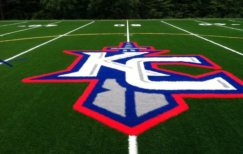 Our Kennedy Catholic Logo Was Unveiled On the Athletic Field Today