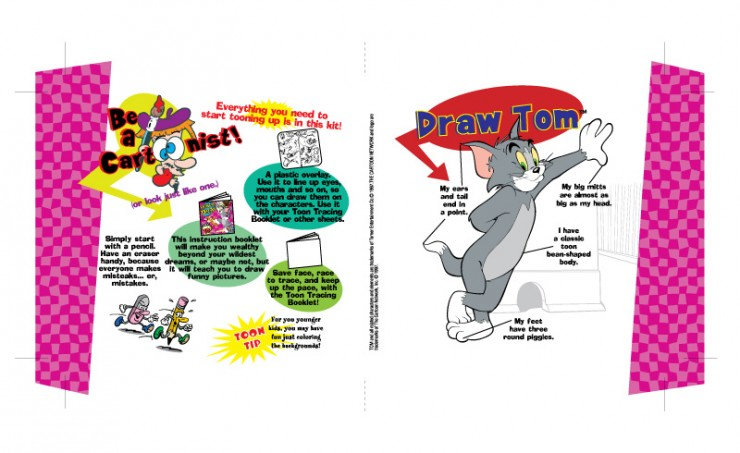 Tom & Jerry 'How To Draw'