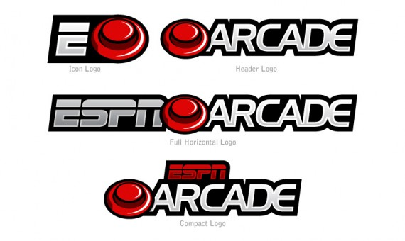 ESPN Arcade Logo Concept