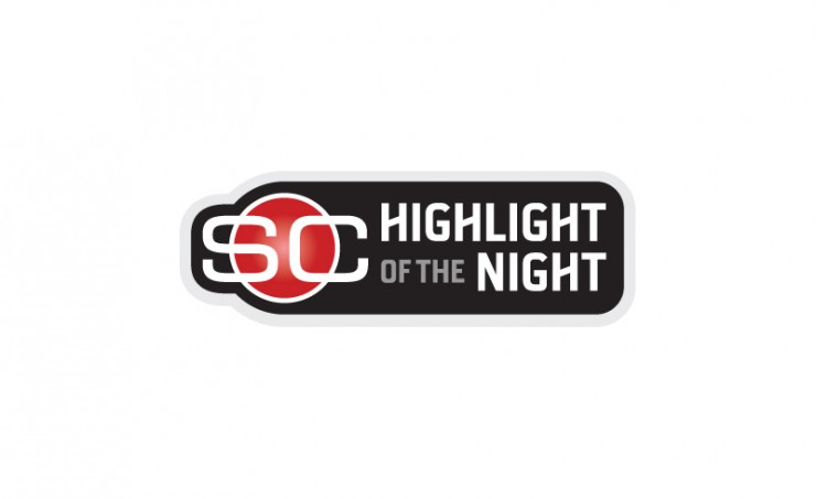"ESPN ""Highlight of the Night"" Logo"