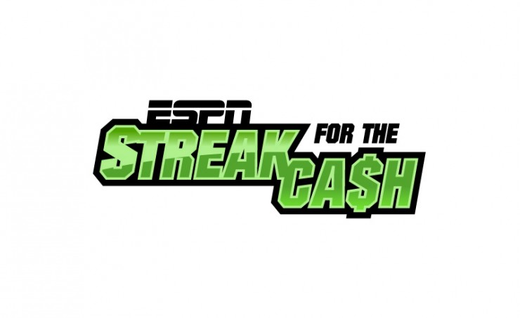 ESPN Streak for the Cash Logo