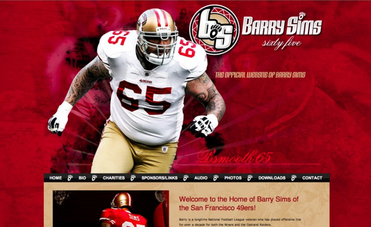 Barry Sims Official Website