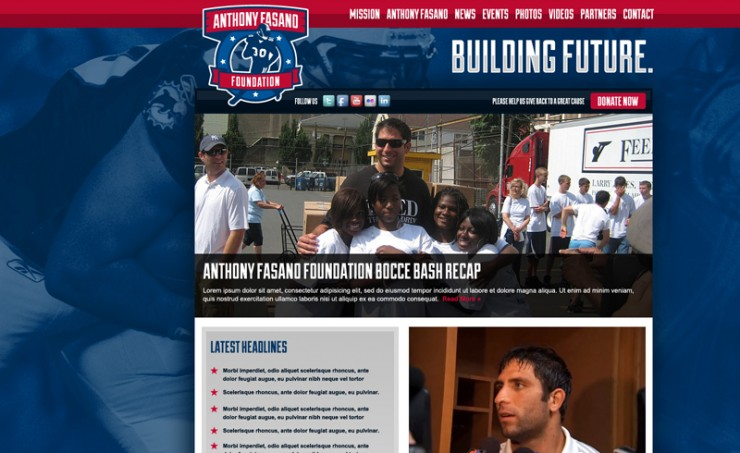 Fasano Foundation Website