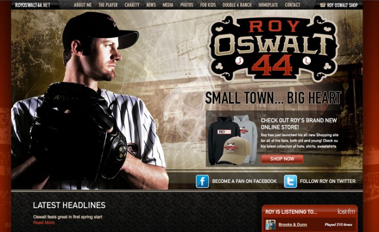 Roy Oswalt Official Website