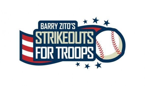 Strikeouts for Troops Logo