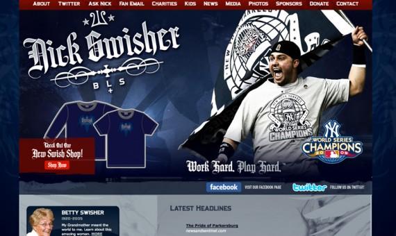 Nick Swisher Official Website