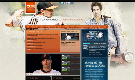 Barry Zito's Official Website
