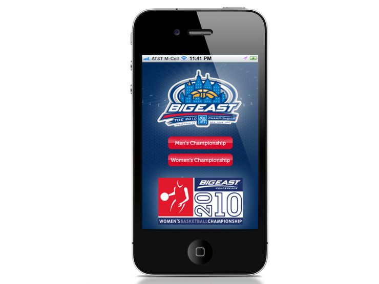 Big East iPhone App