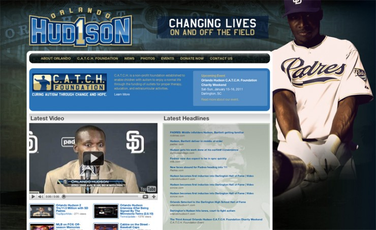 Orlando Hudson Official Website
