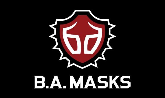 B.A. Masks Logo