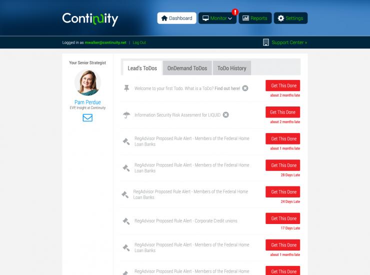 Continuity Control Platform