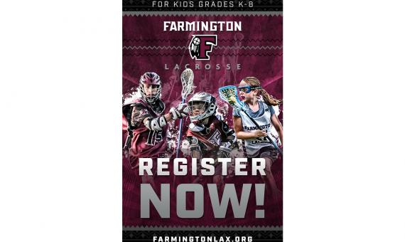 Farmington Youth Lacrosse Register Now