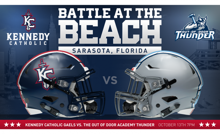 Kennedy Catholic Battle at the Beach Poster