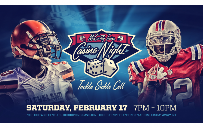 McCourty Twins Casino Night to Tackle Sickle Cell