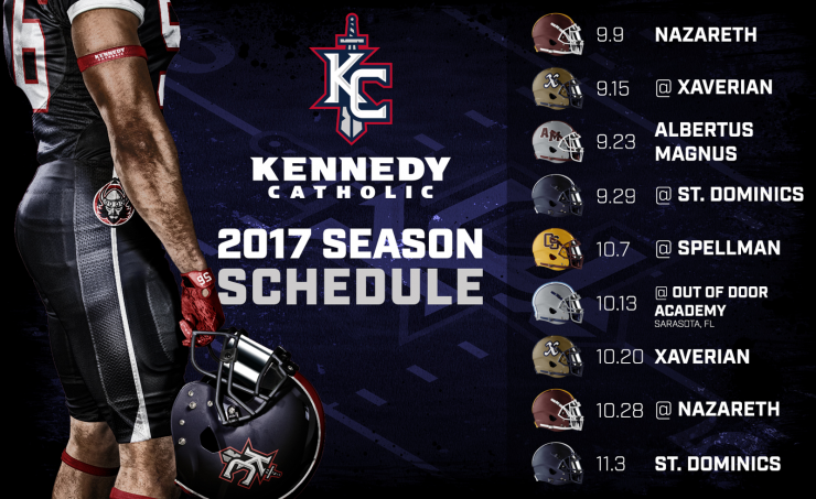 Kennedy Catholic Season Schedule