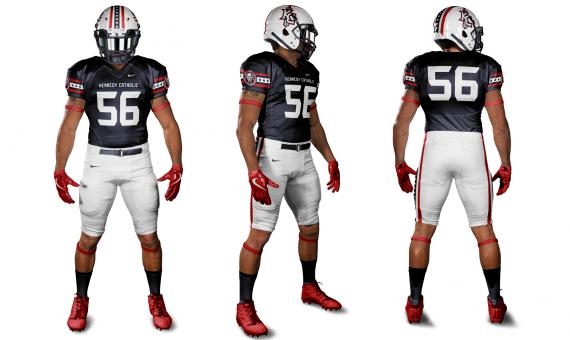 Kennedy Catholic Football Uniform Concept