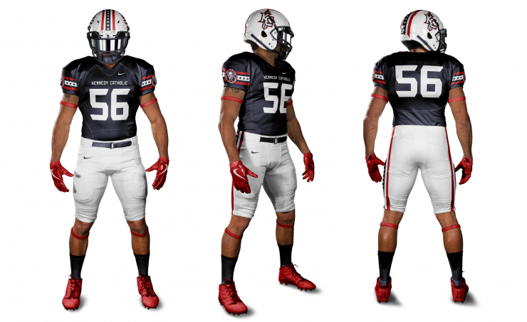 Kennedy Catholic Football Uniform Concept