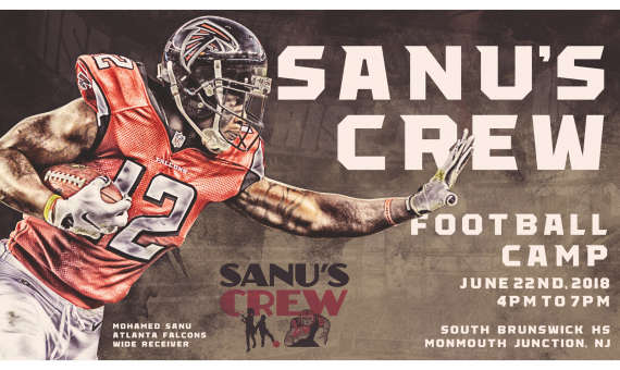 Sanu's Crew Football Camp 2018
