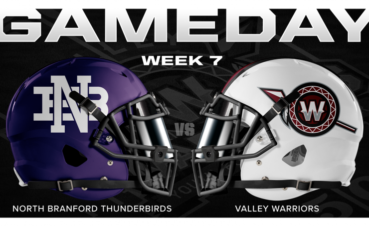 Valley Warriors Gameday Card