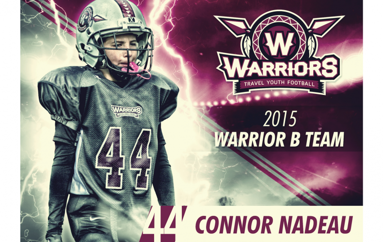 Valley Warriors Player Card 2015