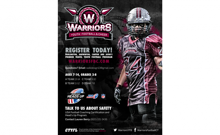 Valley Warriors Recruiting Poster