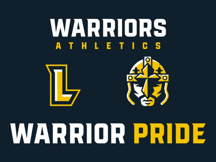 Our Lady of Lourdes High School Athletics Logo