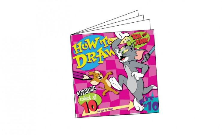 Tom & Jerry 'How To Draw'
