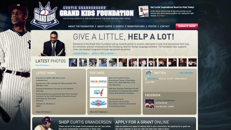 Curtis Granderson's Grand Kids