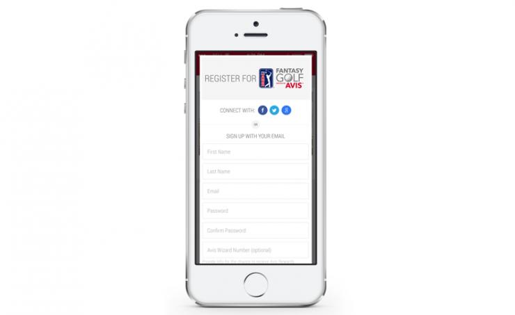 PGA Tour Fantasy Golf Mobile