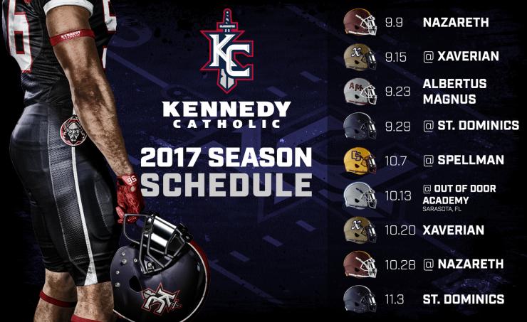 Kennedy Catholic Season Schedule
