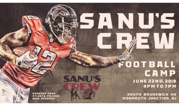Sanu's Crew Football Camp 2018